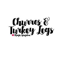 Churros and Turkey Legs Photographic Print