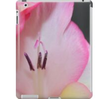 Pink Gladiolous iPad Case/Skin