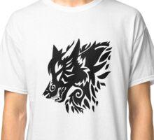 Tribal wolf  Classic T-Shirt