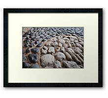 Macro-Rocks  Framed Print