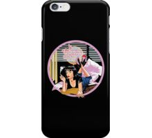 Pulp Fiction - Pink Mia@Jack Rabbits Variant iPhone Case/Skin