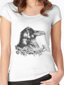 Raven's Call Women's Fitted Scoop T-Shirt