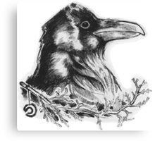 Raven's Call Canvas Print