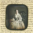 Tote bag - Victorian Lady by Melanie  Dooley