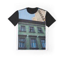 Ljubljana Colourful Buildings Graphic T-Shirt