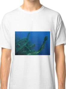 Diver at the MS Zenobia shipwreck.  Classic T-Shirt