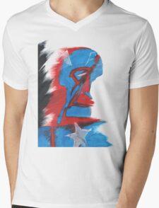 Cap Mens V-Neck T-Shirt
