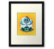 Meeseeks illustration Framed Print