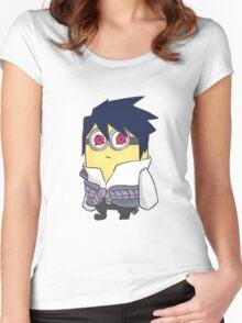 Minion Sasuke Women's Fitted Scoop T-Shirt