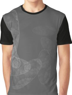 gray spiral abstract Graphic T-Shirt