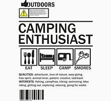 Camping Enthusiast Unisex T-Shirt