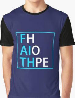 FAITH and HOPE (light blue, white) - LDStreetwear Graphic T-Shirt