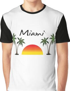 Miami Florida. Graphic T-Shirt