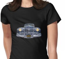 48 Lincoln Continental Grille on Bigun Womens Fitted T-Shirt