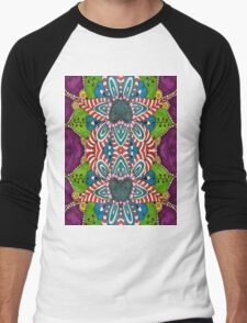 Gypsy Flower Men's Baseball ¾ T-Shirt