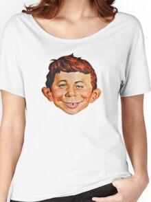 Alfred E. Neuman Women's Relaxed Fit T-Shirt