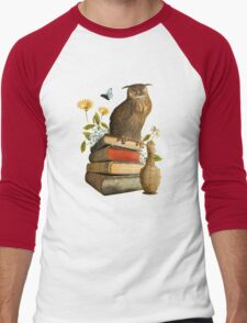 Wise Owl Men's Baseball ¾ T-Shirt