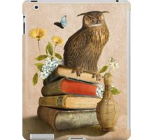 Wise Owl iPad Case/Skin