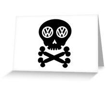 VW Deadhead Greeting Card