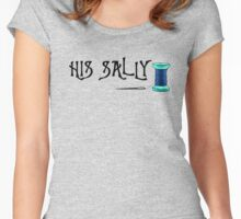 His Sally Women's Fitted Scoop T-Shirt
