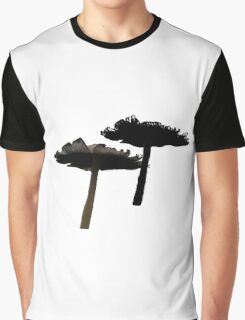 Wild Mushrooms Graphic T-Shirt