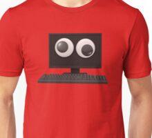 Googly-Eyed Computer Unisex T-Shirt