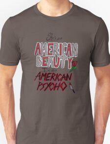 American Beauty / American Psycho Unisex T-Shirt