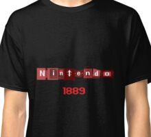 Nintendo Console logo Fan Made Classic T-Shirt