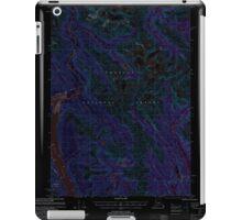 USGS TOPO Map Alaska AK Bradfield Canal B-6 363644 2000 63360 Inverted iPad Case/Skin