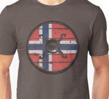 Norwegian Viking Shield Unisex T-Shirt