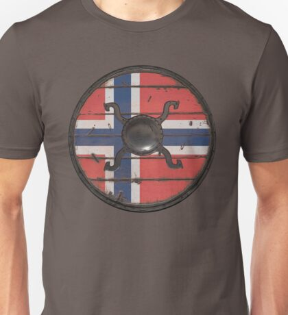 Norwegian Viking Shield Unisex T-Shirt