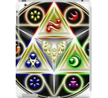 legend of zelda - ocarina of time, the 6 of ages iPad Case/Skin