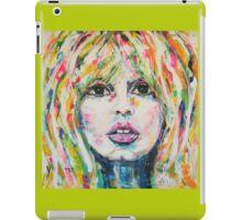 Saint Tropez Babe iPad Case/Skin