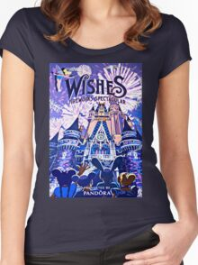 Wishes! Poster Women's Fitted Scoop T-Shirt