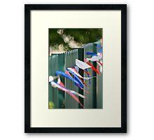 Jubilee Fence Framed Print