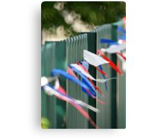 Jubilee Fence Canvas Print