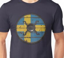 Swedish Viking Shield Unisex T-Shirt