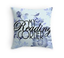 My Reading Corner Throw Pillow
