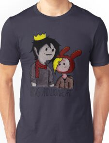 Fionna and Marshall Lee (King and Lionheart) Unisex T-Shirt