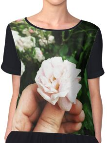 A Rose By Any Other Name Chiffon Top