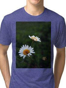 Daisies.  Tri-blend T-Shirt