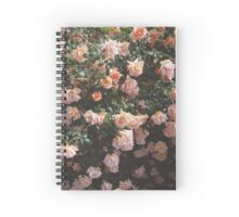 Heirloom Rose Bush Spiral Notebook
