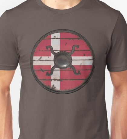Danish Viking Shield Unisex T-Shirt