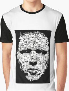 masked faced Graphic T-Shirt