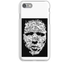 masked faced iPhone Case/Skin