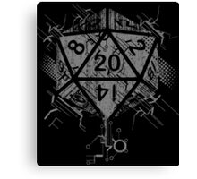 D20 Of Power Canvas Print