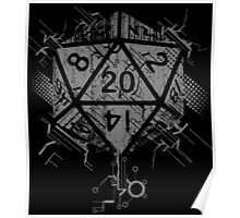 D20 Of Power Poster