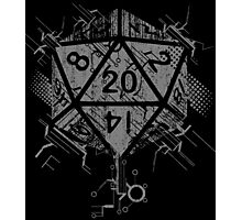 D20 Of Power Photographic Print