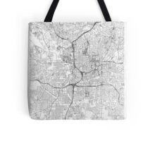 Atlanta Map Line Tote Bag