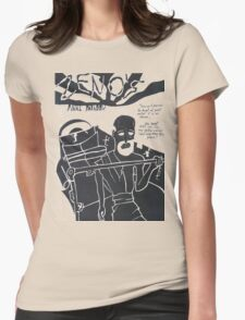 Zeno's Final Paradox Womens Fitted T-Shirt